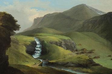 Caspar Wolf, Bachalp oberhalb Grindelwald, c. 1774