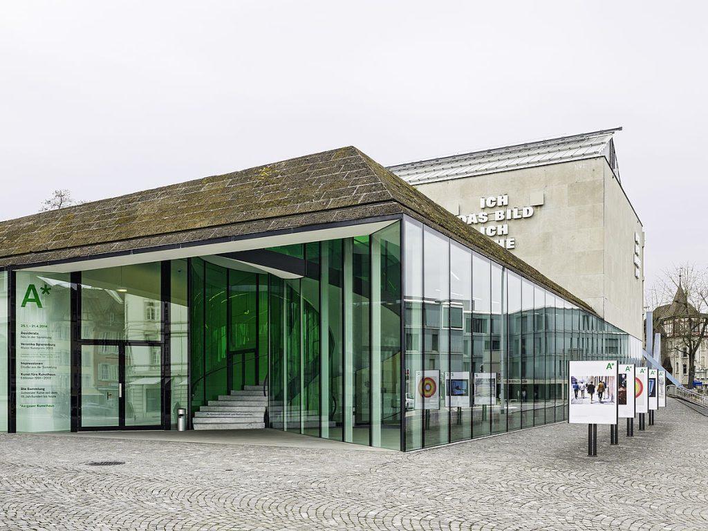 Aargauer Kunsthaus, Aarau, Foto: Georg Aerni, Zuerich
