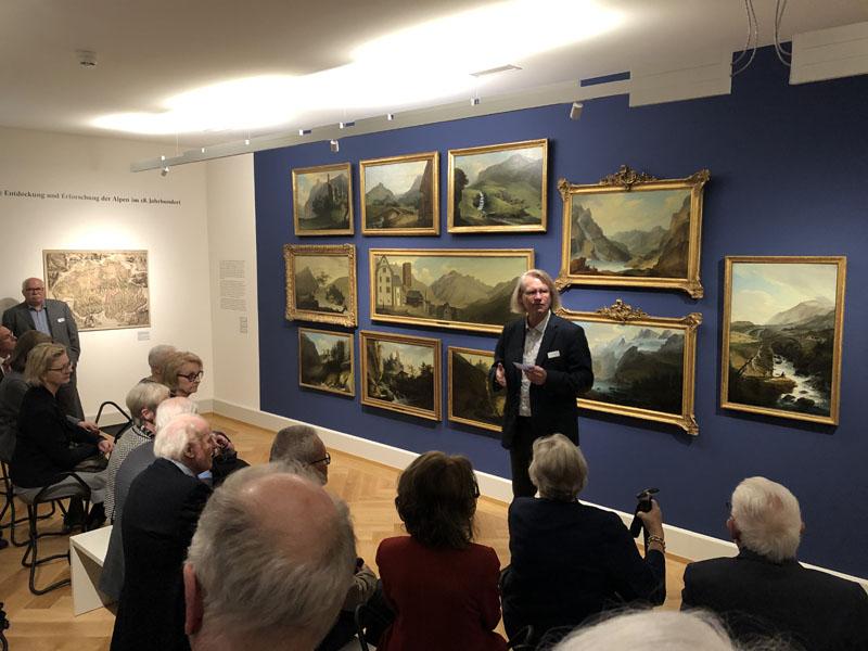 Museum Caspar Wolf - Blauer Salon