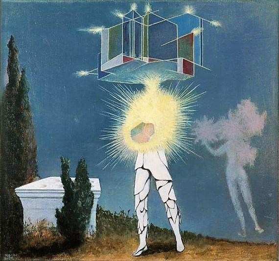 Meret Oppenheim, Sonne, Mond und Sterne, 1942